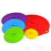 Amazon Food Grade 5 Pack Reusable Heat Resistant Silicone Bowl Pot Lids Cover