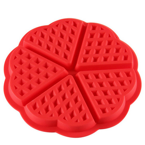 High Quality Best Selling Food Grade Cake Silicone Baking Silicone Molds Waffle Mould