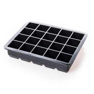Unique Design Multifunctional Storage Containers Maker Silicone Ice Mold Ice Cube Trays Silicone with Lids, Silicon Tray Mold