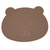 2020 New Silicone Placemat Animal Shaped, Skin Touch Bear Baby Silicone Suction Placemat, for Babies, Kids And Toddlers