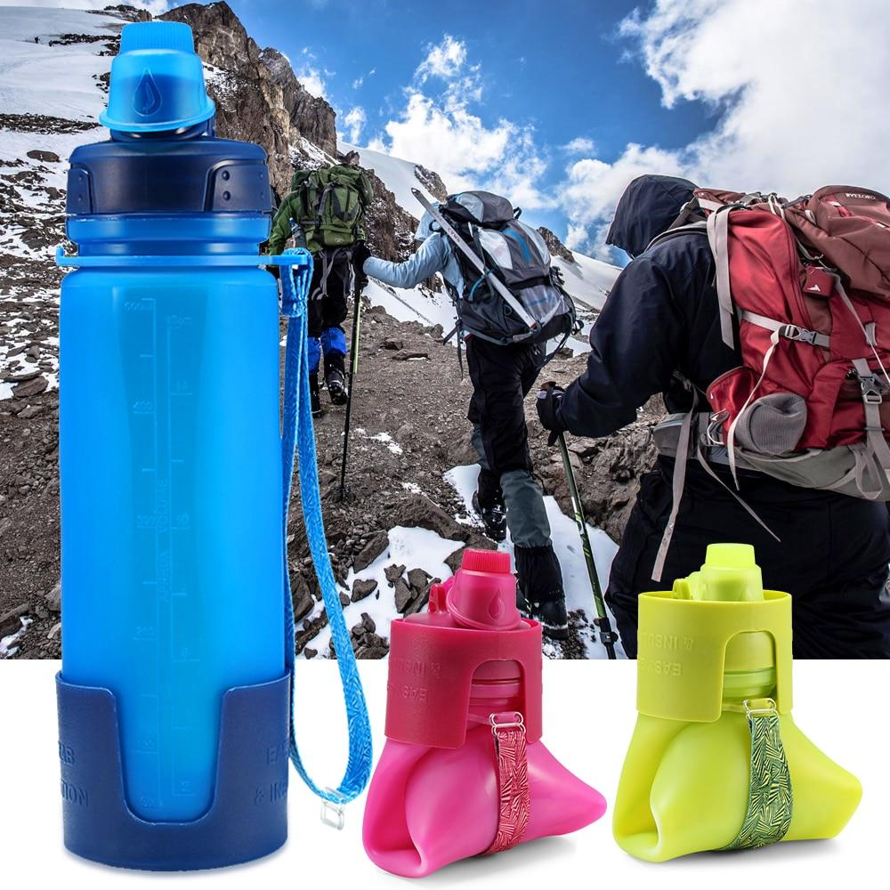 500ML-Collapsible-Silicone-Water-Bottle-Silicone-Folding-Kettle-Outdoor-Sport-Water-Bottle-Strap-Camping-Travel-Running