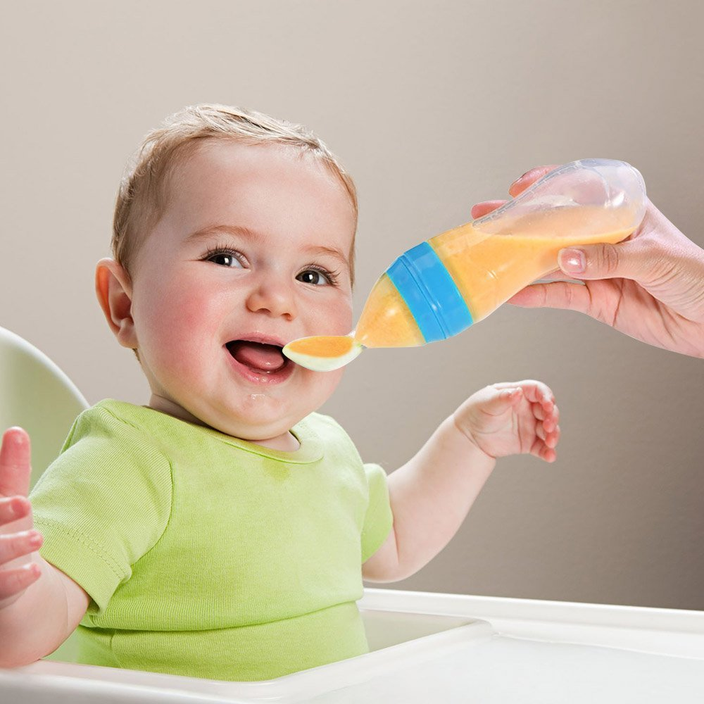 Baby-Feeder-Silicone-Baby-Food-Dispensing-Spoon-Toddler-Feeding-Bottle-with-Spoon-Feeding-Rice-Cereal-Feeding