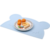 Silicone Baby Placemat Animal Shaped Waterproof Silicone Placemats for Babies Kids And Toddlers